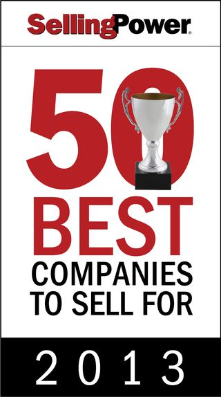 Logo Selling Power - 50 Best Companies to Sell For 2013